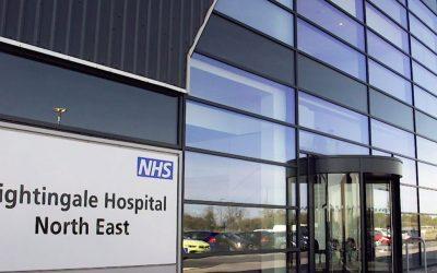 Nightingale Hospital Time-Lapse